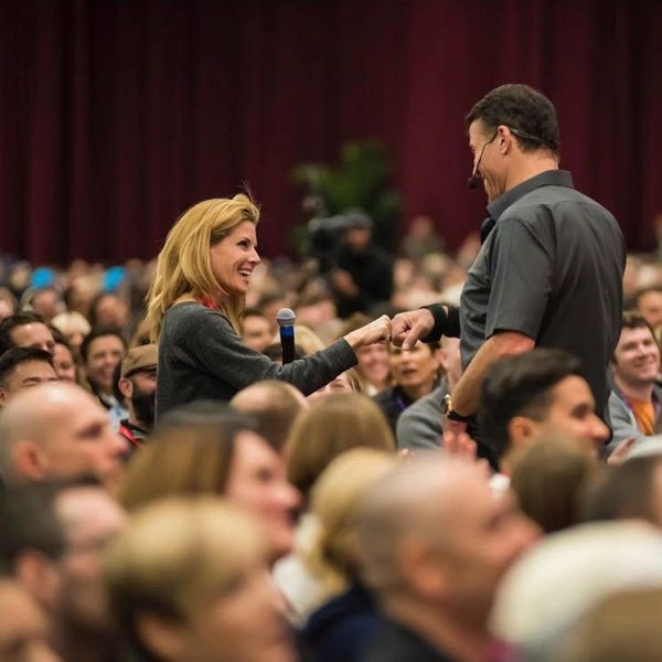 tony robbins breakthrough moment